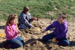 Coronation School Natural Sand Play Area